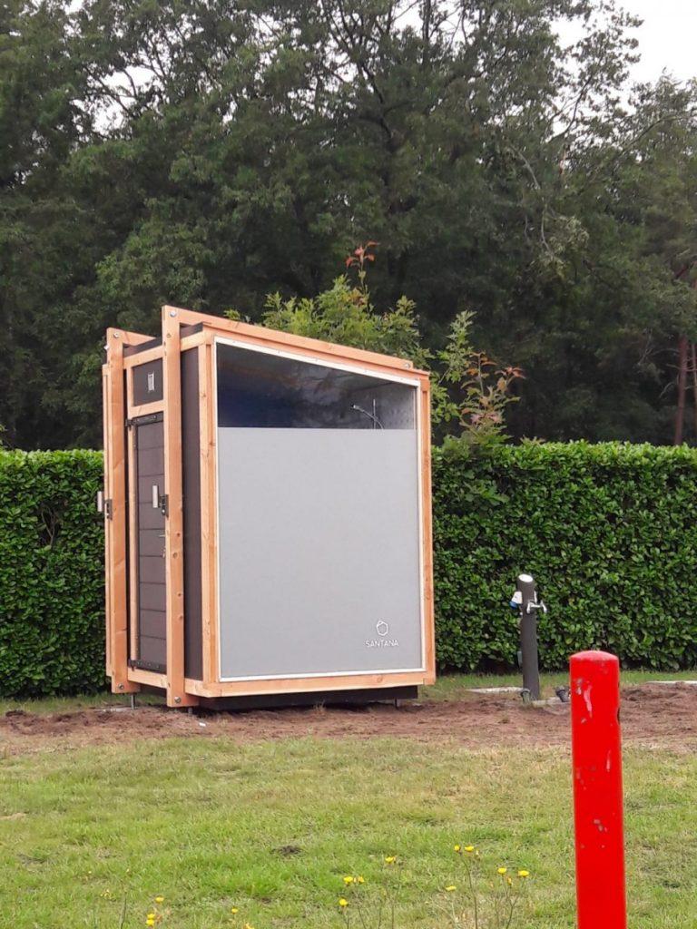 privé sanitair is de uitkomst voor veilig en hygiënisch kamperen.